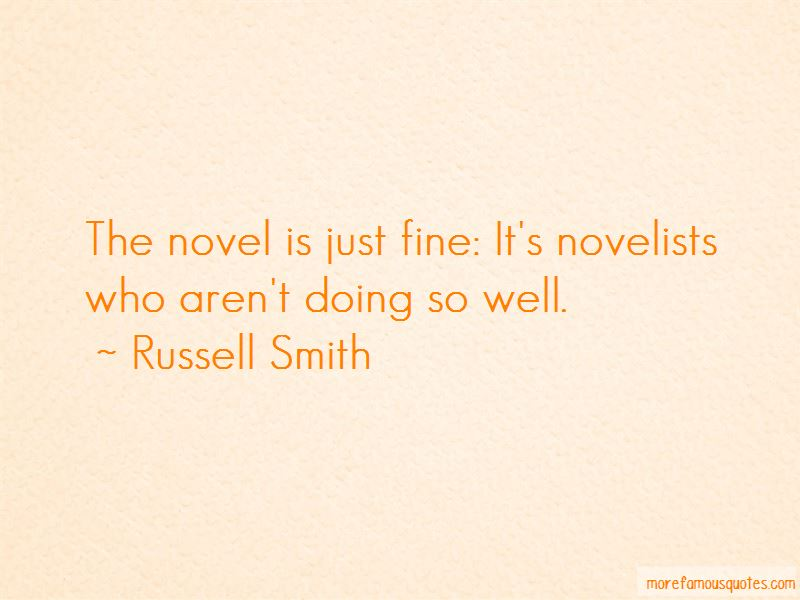 Russell Smith Quotes Pictures 3