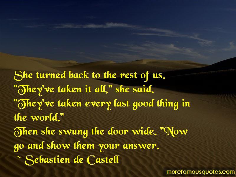 Sebastien De Castell Quotes