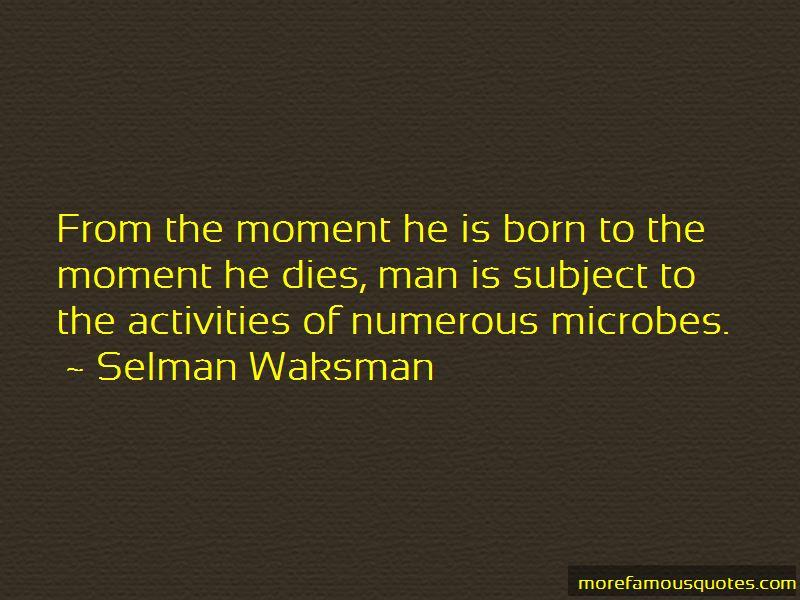 Selman Waksman Quotes Pictures 3