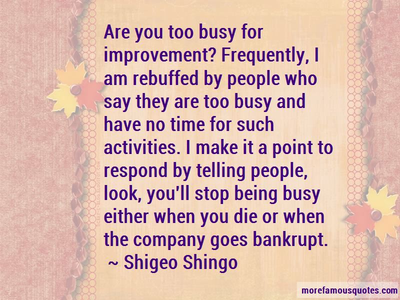 Shigeo Shingo Quotes Pictures 2