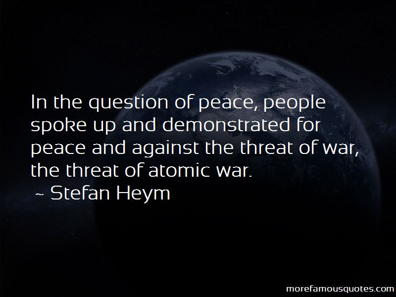 Stefan Heym Quotes Pictures 2