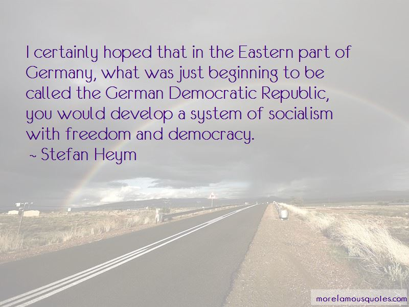 Stefan Heym Quotes Pictures 4