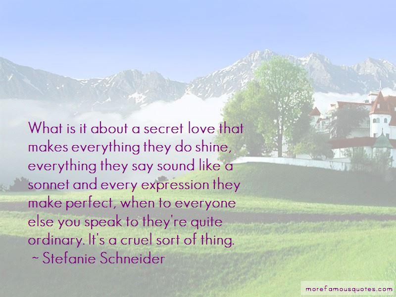 Stefanie Schneider Quotes