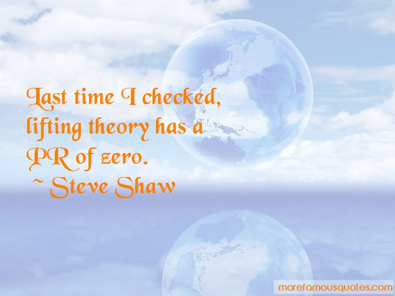 Steve Shaw Quotes Pictures 4