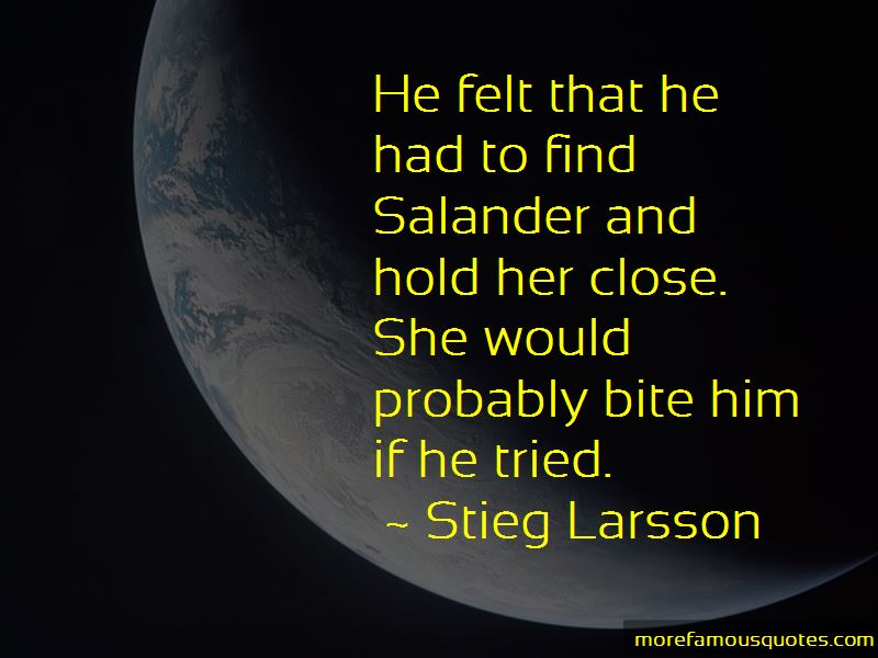 Stieg Larsson Quotes