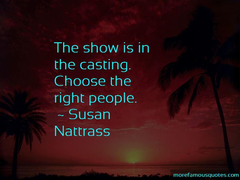 Susan Nattrass Quotes