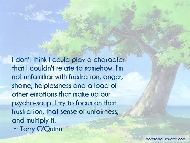 Terry O'Quinn Quotes