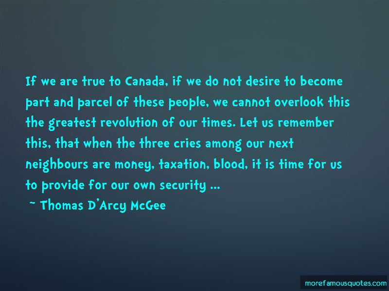 Thomas D'Arcy McGee Quotes Pictures 2