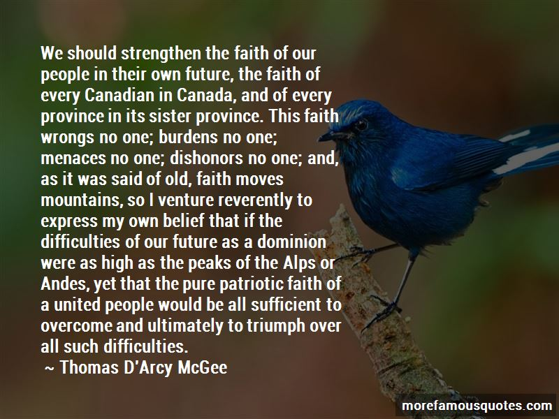Thomas D'Arcy McGee Quotes Pictures 4