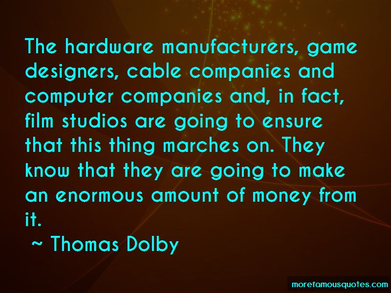 Thomas Dolby Quotes Pictures 2