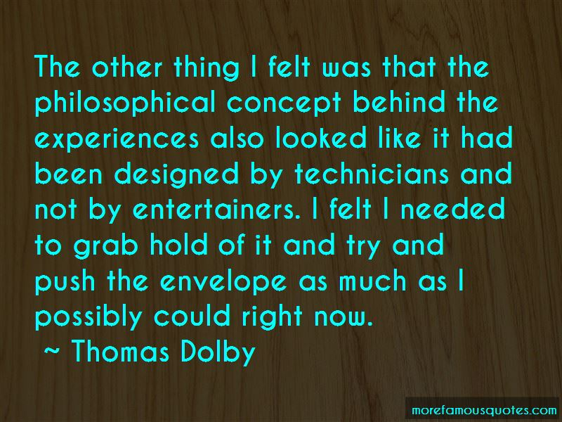 Thomas Dolby Quotes Pictures 3