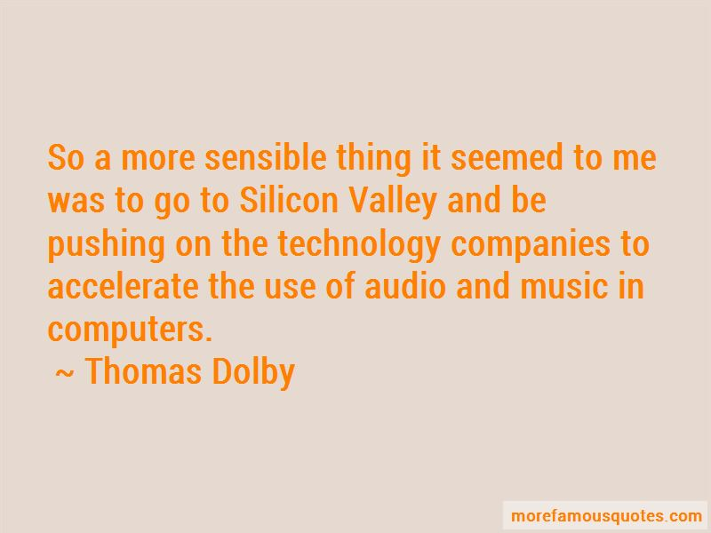 Thomas Dolby Quotes Pictures 4
