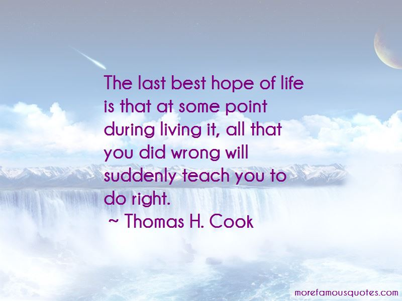 Thomas H. Cook Quotes Pictures 4