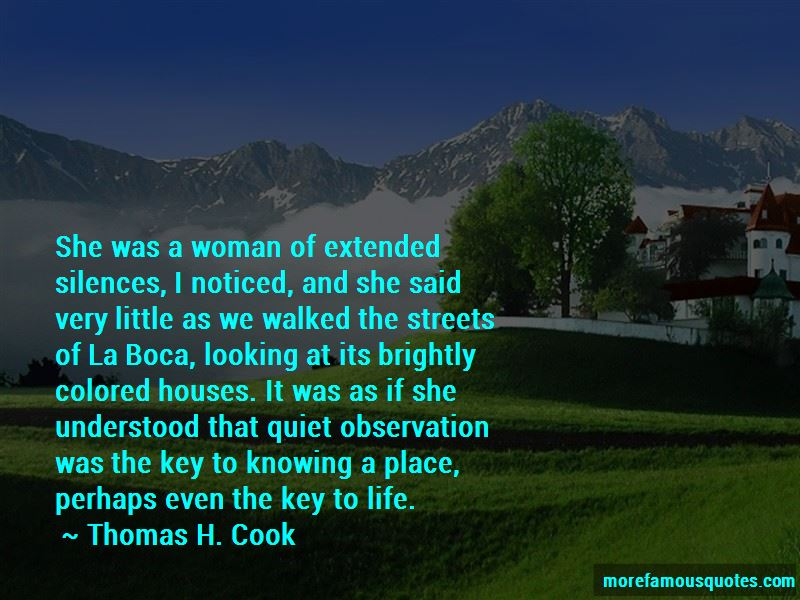 Thomas H. Cook Quotes