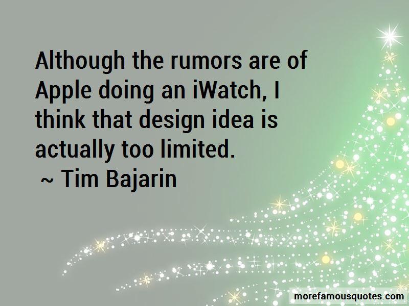 Tim Bajarin Quotes