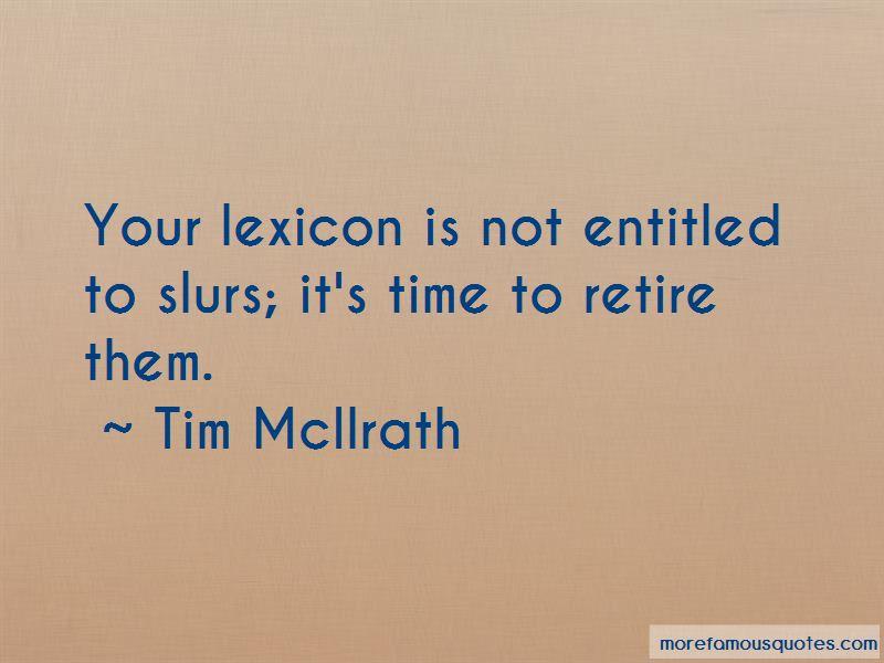 Tim McIlrath Quotes