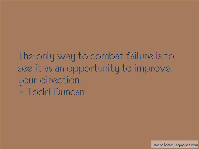 Todd Duncan Quotes Pictures 2