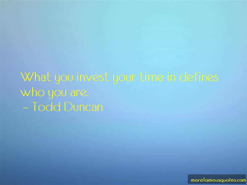 Todd Duncan Quotes Pictures 4