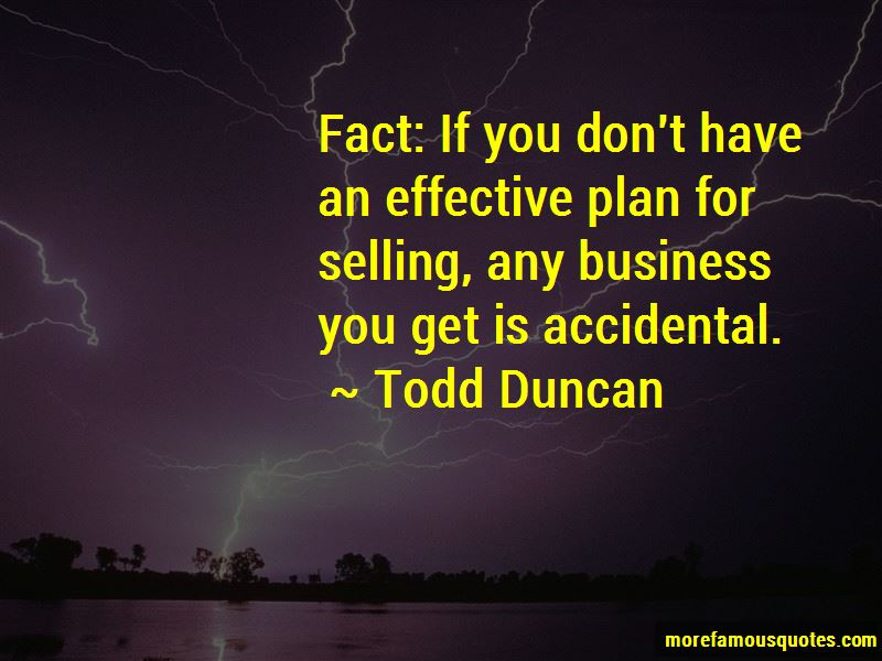 Todd Duncan Quotes