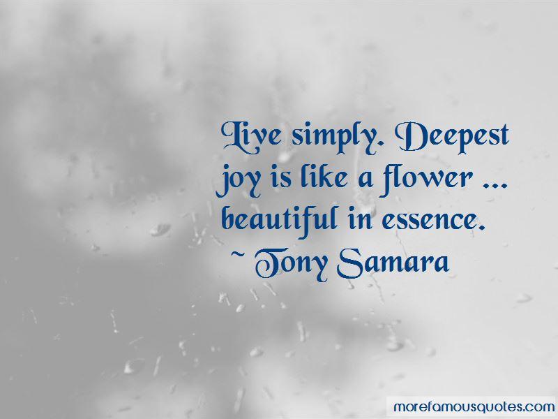 Tony Samara Quotes