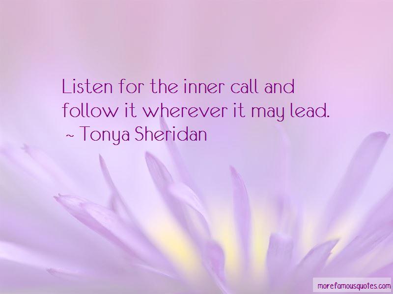 Tonya Sheridan Quotes Pictures 2