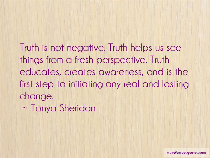 Tonya Sheridan Quotes