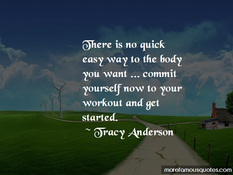 Tracy Anderson Quotes Pictures 2
