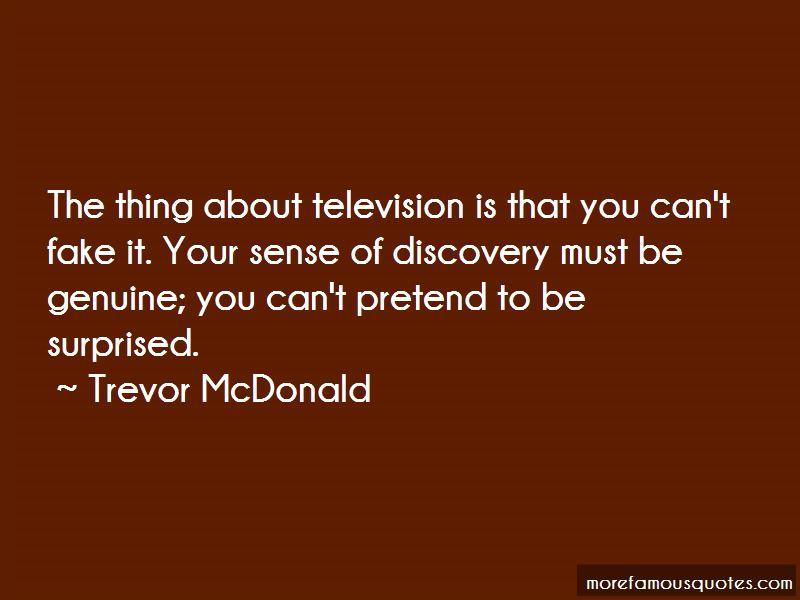 Trevor McDonald Quotes Pictures 2