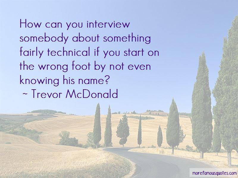 Trevor McDonald Quotes Pictures 4
