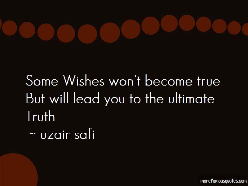 Uzair Safi Quotes