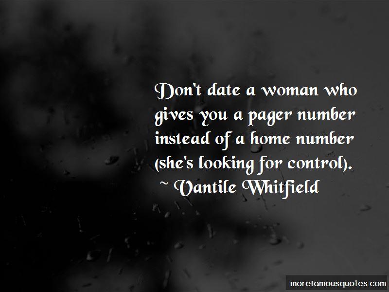 Vantile Whitfield Quotes Pictures 2
