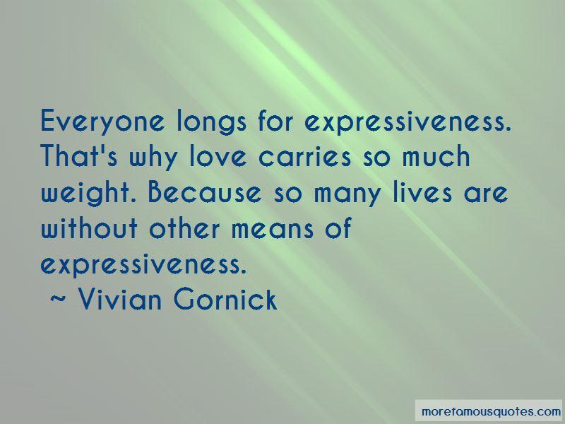 Vivian Gornick Quotes Pictures 2