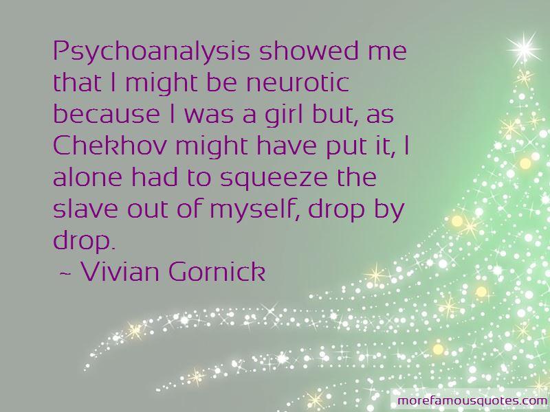 Vivian Gornick Quotes