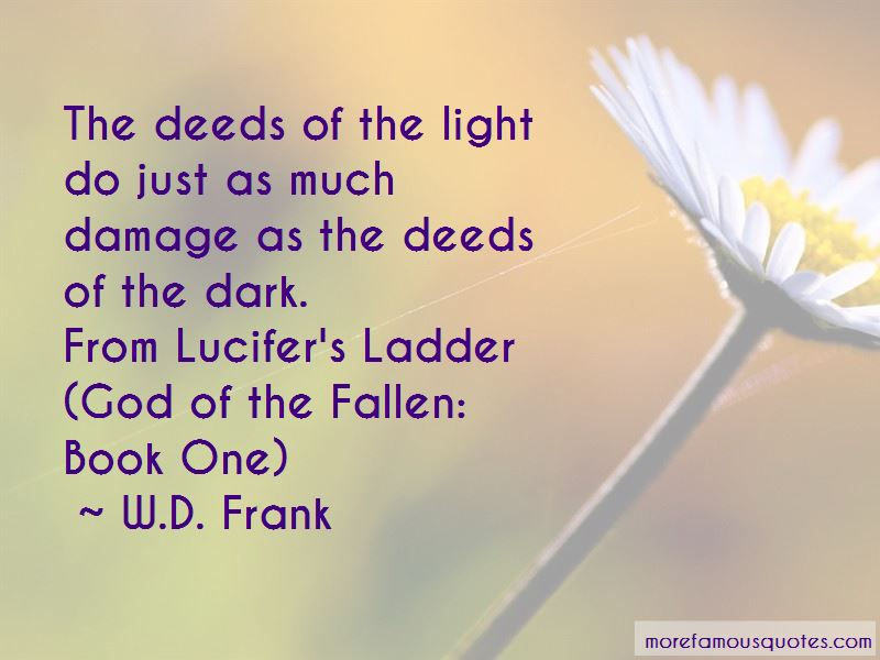 W.D. Frank Quotes