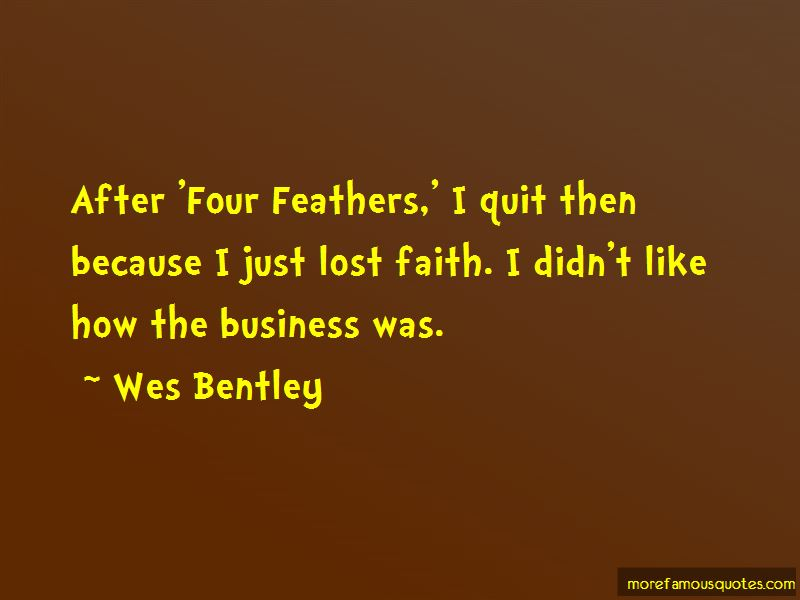 Wes Bentley Quotes Pictures 3