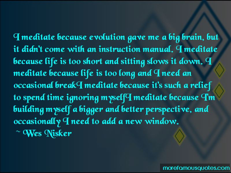 Wes Nisker Quotes Pictures 2