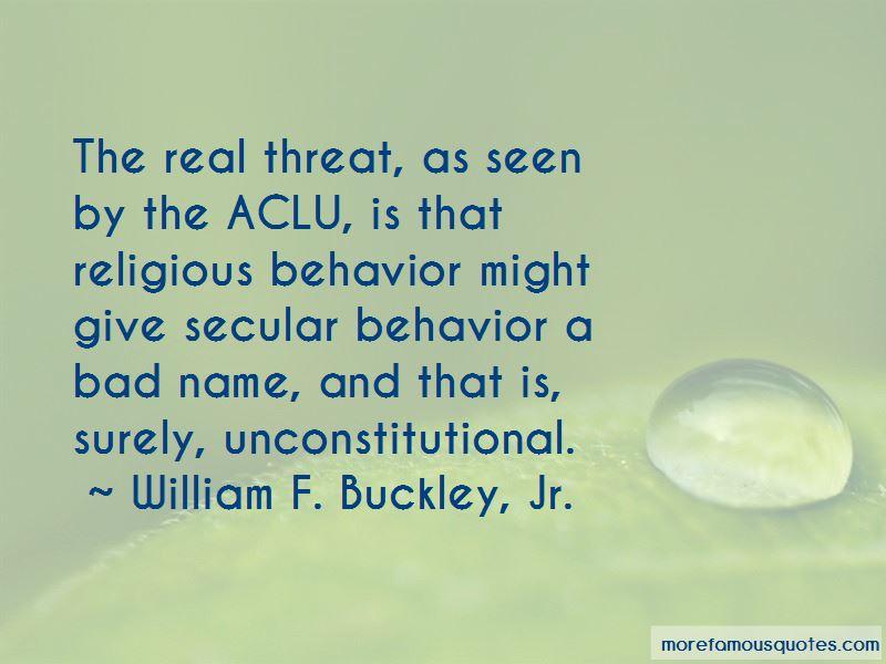 William F. Buckley, Jr. Quotes