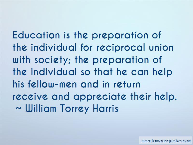 William Torrey Harris Quotes