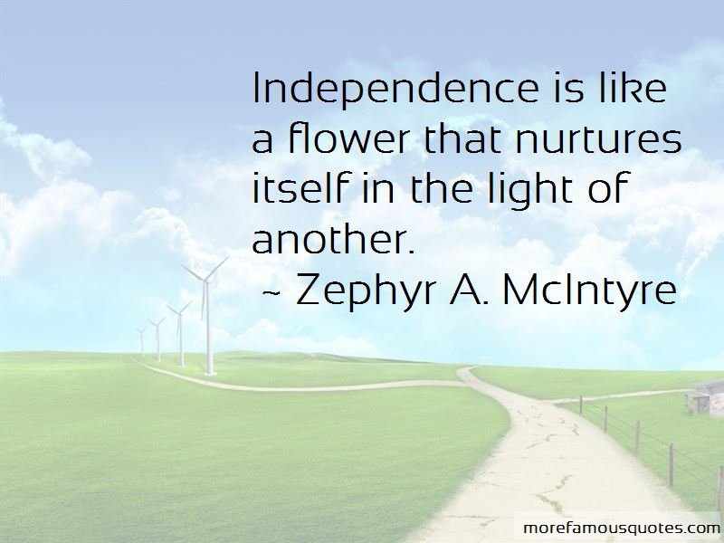 Zephyr A. McIntyre Quotes Pictures 2