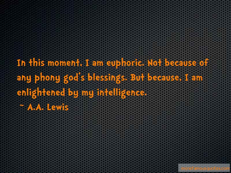 A.A. Lewis Quotes
