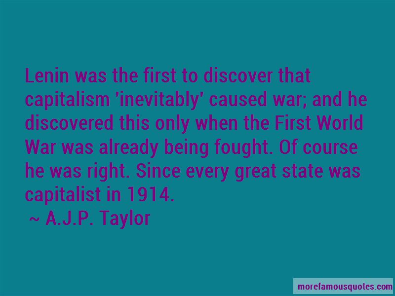 A.J.P. Taylor Quotes Pictures 2