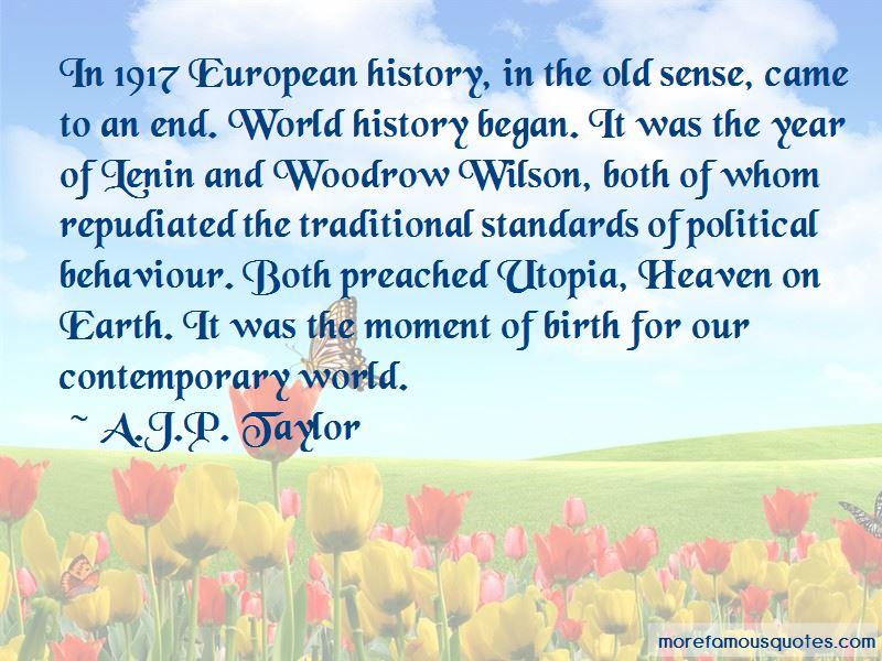 A.J.P. Taylor Quotes