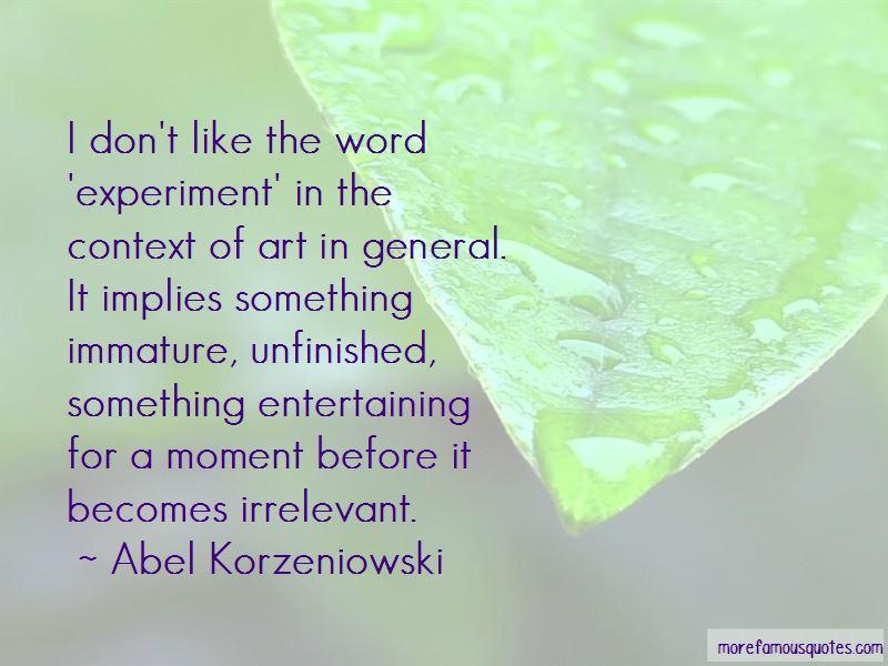 Abel Korzeniowski Quotes Pictures 3