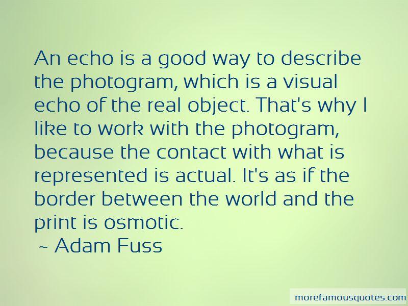 Adam Fuss Quotes Pictures 3