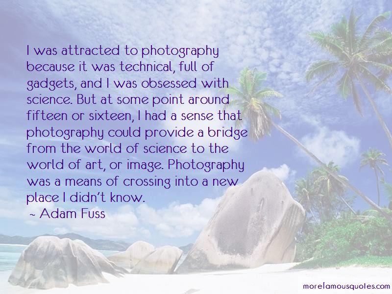 Adam Fuss Quotes