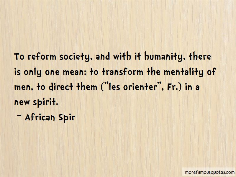 African Spir Quotes