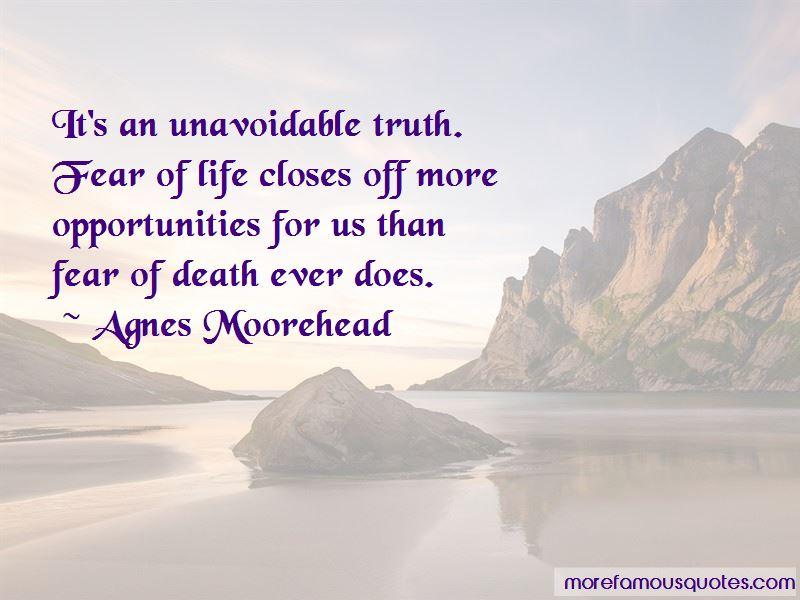 Agnes Moorehead Quotes