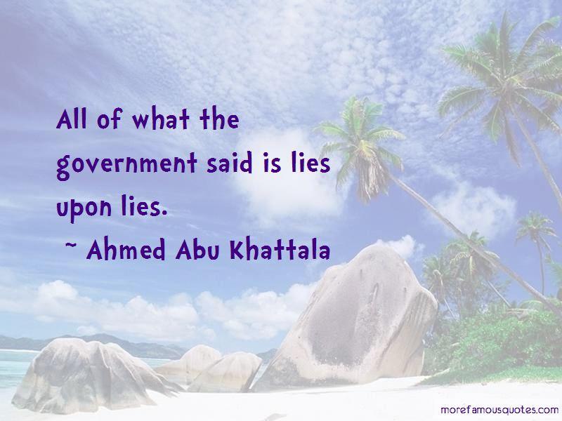 Ahmed Abu Khattala Quotes