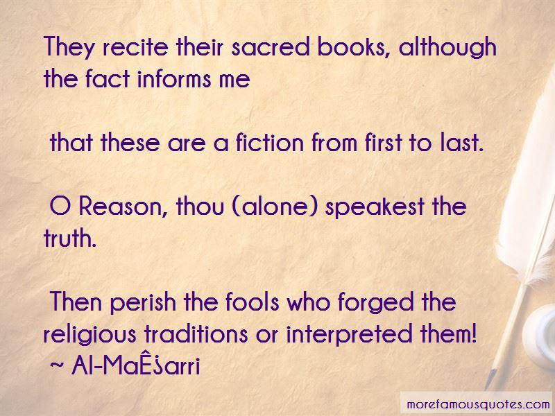 Al-Maʿarri Quotes Pictures 3