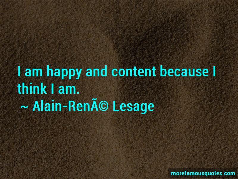 Alain-Rene-Lesage Quotes